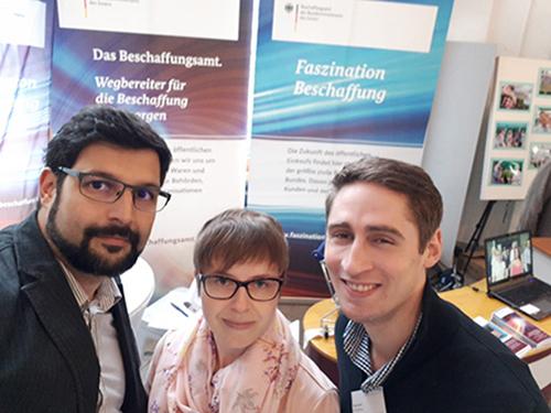 BeschA Mitarbeiter beim Unternehmenstag der Hochschule Bonn-Rhein-Sieg