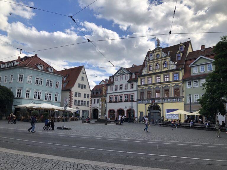 Bild: Stadtansicht Erfurt