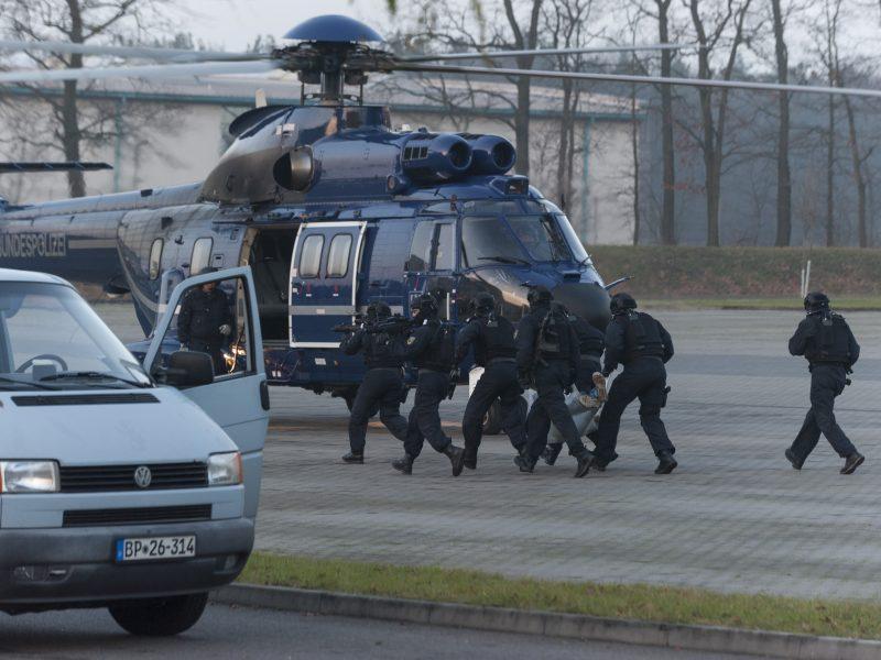 Bild: Bundespolizei im Einsatz