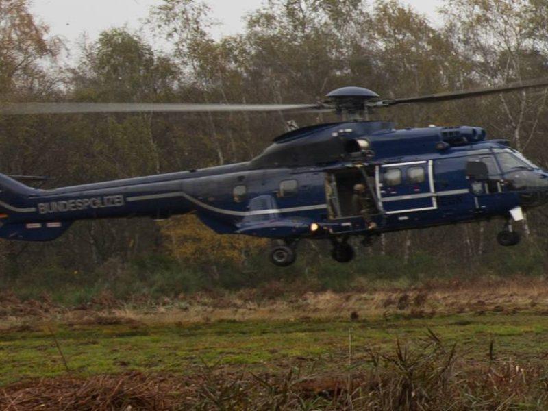Bild: Hubschrauber der Bundespolizei